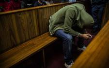 Nicholas Ninow, who is accused of raping a seven-year-old girl in a Dros restaurant, appears in the Pretoria Magistrates Court on 1 November 2018. Picture: Abigail Javier/EWN