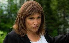 Christine Hallquist. Picture: @christineforvt/Twitter
