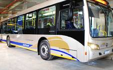 FILE: A Gautrain bus at the Sandton station. Picture: EWN