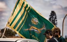 Boks supporters in Port Elizabeth during the national team's trophy tour on Sunday, 10 November 2019. Picture: Kayleen Morgan/EWN