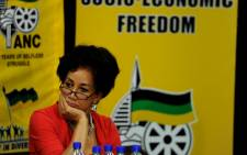 Public Administration and Services Minister Lindiwe Sisulu. Picture: SAPA.