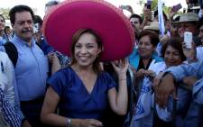 Mexican presidential candidate Josefina Vazquez Mota. Picture: AFP