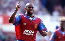 FILE: Former English premier league striker Dalian Atkinson. Picture: @AVFCOfficial.