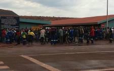 FILE: Kumba Iron Ore said it plans to reconfigure its Sishen mine.