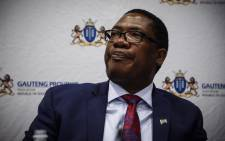 Gauteng Education MEC Panyaza Lesufi addresses the media on the state of readiness of the reopening of schools. Picture: Abigail Javier/EWN.