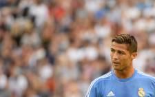 FILE: Real Madrid's Portuguese midfielder, Cristiano Ronaldo. Picture: AFP