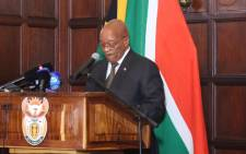 FILE: President Jacob Zuma. Picture: Christa Eybers/EWN