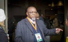 ANC secretary-general Gwede Mantashe at the Media Lounge at the ANC National Policy Conference. Picture: Thomas Holder/EWN