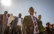 FILE: Duduzane Zuma leaves the Randburg Magistrates Court after a postponement on 26 October 2018. Picture: Thomas Holder/EWN.