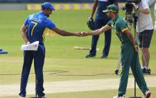 Sri Lanka took on the Proteas on 7 September in the third and deciding one-day international. Picture: @ICC/Twitter.