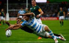 Springboks vs Argentina in the battle for third place spot in the Rugby World Cup at Olympic Stadium on 30 October 2015. Picture: Rugby World Cup ‏@rugbyworldcup.