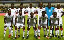 Burkina Faso's squad. Picture AFP.