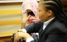 Sindisiwe Manqele was found guilty of murdering her rapper boyfriend Nkululeko 'Flabba' Habedi at his Alexandra home in March. Picture: Christa Eybers/EWN