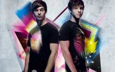 Musical twins Locnville. Picture: Supplied