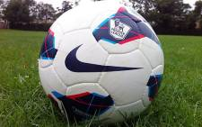 Official ball of the English Premier League, the Nike Maxim. Picture: SportsLocker.