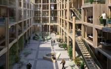 "The ""aula modula"" apartment block concept, from Studio Belem, is aimed at young families and flatshares, where the number of inhabitants may vary. Picture: Studio Belem"