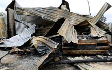 FILE: Last week, the ward councillor and his family went into hiding after their home was torched. Picture: Anthony Molyneaux/EWN.