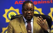 Police Minister Nkosinathi Nhleko. Picture: Sapa.