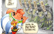 Asterix Goes Down Under