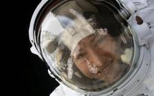 FILE: This Nasa photo released on 4 February 20202shows Nasa astronaut Christina Koch during a spacewalk on 15 January 2020. Koch returned to Earth on 6 February 2020 after 328 days living and working aboard the International Space Station. Picture: AFP.