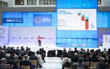 IMF leader Kristalina Georgieva gives a presentation on 8 October 2019. Picture: @IMFNews/Twitter