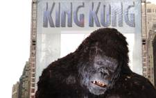 A giant King Kong figure at a photocall for the premiere of 'King Kong' in Times Square in December 2005 in New York City. Picture: Getty Images North America /AFP.