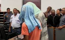 Two men accused of Anene Booysen's rape and murder appear in Bredasdorp regional court. Picture: EWN