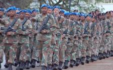 The South African National Defence Force. Picture: EWN