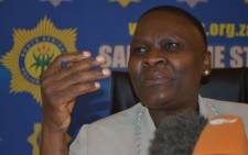 National Police Commissioner Riah Phiyega. Picture: EWN.