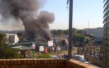 A factory explosion rocked Spartan in Kempton Park on the East Rand on 10 April 2013, injuring six people. Picture: Nigel Williams/iWitness