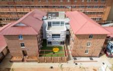 A birds eye view of the extended Empilweni Services and Research Unit at the Rahima Moosa Hospital. Picture: Dave Southwood.