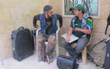 Members of the Gift of the Givers team in Darkoush, Syria. Picture: Rahima Essop/EWN.
