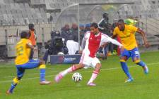 Ajax Cape Town played Sundowns in the PSL on 13 August 2014. Picture: Abed Ahmed/EWN