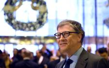 FILE: Bill Gates. Picture: AFP.