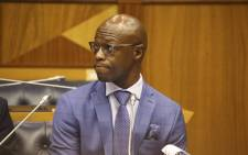 Former Eskom executive Matshela Koko testifying before the Eskom parliamentary inquiry into state capture on 24 January 2018. Picture: Cindy Archillies/EWN