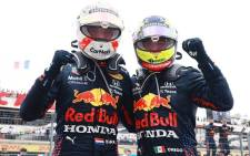Redbull driver Max Verstappen won the French Grand Prix on Sunday 20 June 2021 in Le Castellet. Picture: Twitter/@redbullracing