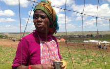 Nokwanele Balizulu Chief of Qunu and Madiba clan member says she hates the Government for the way they treated them during Nelson Mandela's funeral last year. Picture: Vumani Mkhize/EWN.