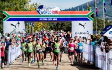 The Wings for Life World Run was hosted in Cape Town in 2015 with 1,300 runners registered. Picture: Supplied
