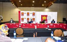 The SAHRC on day 3 of its hearing on bullying, corporal punishment and sexual relationships between educators and learners in schools in Limpopo on 20 May 2021. Picture: @SAHRCommission/Twitter