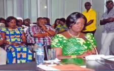 Former Ghanaian Communications Deputy Minister Victoria Hammah. Picture: https://twitter.com/Vicky_hammah.