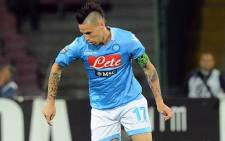 SSC Napoli's Udinese Dusan Basta. Picture: Facebook.