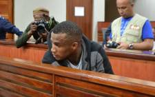 Johannes Kana during his sentencing in the Swellendam Circuit Court on 1 November 2013. Picture:Renee de Villiers/EWN