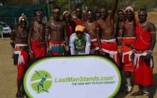 Members of the Maasai Cricket Warriors. Picture: Facebook.com.