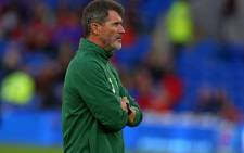 Republic of Ireland's assistant manager Roy Keane takes warm-up before the UEFA Nations League football match between Wales and Republic of Ireland at Cardiff City Stadium in Cardiff on 6 September 2018. Picture: AFP