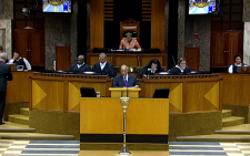 President Jacob Zuma during his previous question and answer session in the National Assembly on Wednesday 11 March 2015: Picture: Screengrab/YouTube