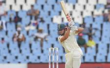 South Africa's Theunis de Bruyn is seen in action during day one of the 1st cricket Test matches between South Africa and Pakistan at SuperSport Park cricket stadium on 26 December 2018 in Pretoria. Picture: AFP