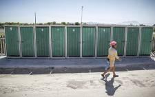 Communal toilets. Picture: EWN.