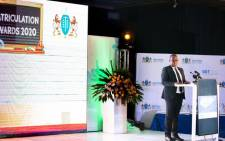 Gauteng Education MEC Panyaza Lesufi speaks during a special Gauteng government event in Johannesburg to honour the matric class of 2020. Picture: Thando Kubheka/Eyewitness News