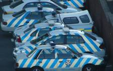 FILE: Traffic police cars