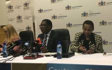 FILE: Gauteng Education MEC Panyaza Lesufi briefing the media on school placement for the 2019 academic year. Picture: Thando Kubheka/EWN